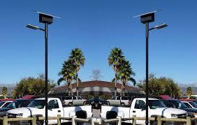 parking lot lighting in tarzana