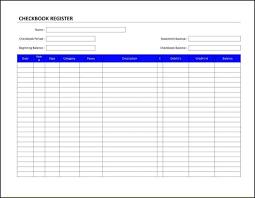 Checkbook Register Downloads Download Checkbook Register Free Printable Check Transaction