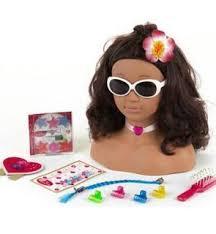 Avis Klein Tête à coiffer et à maquiller Princesse Coralie : Hawaï | Parole  de Mamans