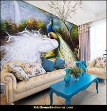 peacock inspired room. Wonderful Inspired Peacock Theme Decorating Room Decor Fresh Diy To Peacock Inspired Room U