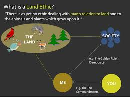 understanding the land ethic the aldo leopold foundation land ethic diagram