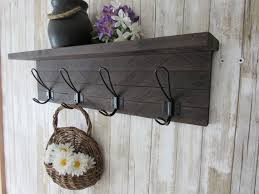 rustic coat rack wall mount farmhouse