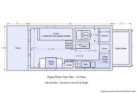 small house trailer floor plans lovely tiny houses floor plans free homes floor plans of small