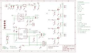 dmx512 4 channel driver board schematic in pdf