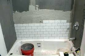 non tiled shower ideas tile walls diagonal wall tiles 1 or floor first how to stunning tiling