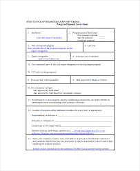 program sheet template program proposal template 11 free word pdf documents download