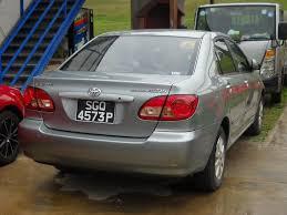 Toyota Corolla Altis 2007 - Car rental