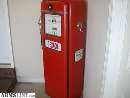 gilbarco gas pump. bought for my shop. looks good. we moved and know its in garage. $600 or trade glock 17. redacted. gilbarco gas pump