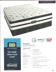 simmons beautyrest recharge plush. Full Size Of Simmons Beds Beautyrest Simmon Recharge Plush Pillow Top Queen