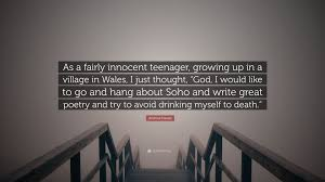 Andrew Davies Quote As A Fairly Innocent Teenager Growing Up In A