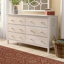 Sommerville 6 Drawer Double Dresser Easy To Assemble Dresser S80