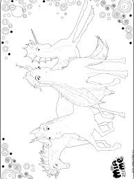 Mia And Me Coloring Pages Thewestudio