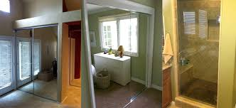 glass shower doors and enclosures installations repair replacements