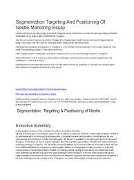 essay marketing marketing essay writing service uk marketing essay segmentation targeting and positioning of nestle marketing essay