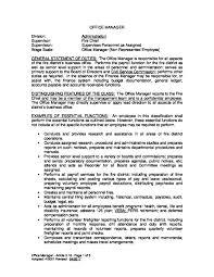 Personnel Management Job Description Office Manager Job Description Keizer Fire District Keizer