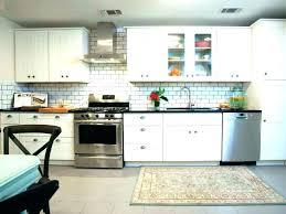 glass mosaic kitchen backsplash blue