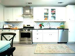 glass mosaic kitchen backsplash blue