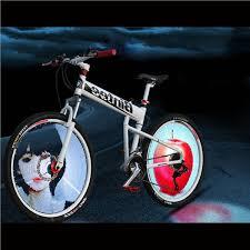 144 rgb colorful water resistant diy bicycle wheel light spoke light
