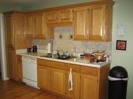 kitchen paint colors oak cabinets dark