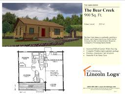 Bear Creek Country Kitchens The Bear Creek 4499000 The Original Lincoln Logs