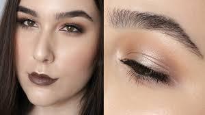 2 palette halo eye makeup tutorial