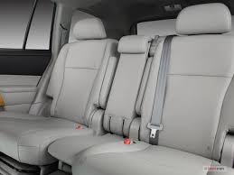 2008 toyota highlander hybrid rear seat