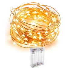 Decorative String Lights Amazon Riflection Copper String Led Light 3m 30 Led Battery Operated Wire Decorative Fairy Lights Diwali Christmas Festival Warm White