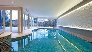 home indoor pool with bar. Interior Decoration:Stunning Home Design With Small Modern Kitchen Feat High Bar Stools Nar Indoor Pool O