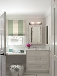 double vanity with makeup table. floating makeup vanity contemporary bathroom ann lowengart with table double e