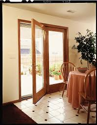 Pella ProLine ENERGYSTAR qualified hinged patio doors