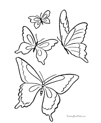 Small Picture Butterfly Pic Photo Free Butterfly Coloring Pages Printable at