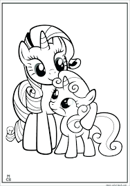 My Little Pony Printable Coloring Sheets Printable My Little Pony