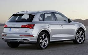 2018 audi e tron. perfect 2018 2018 audi q5 hybrid  rear throughout audi e tron