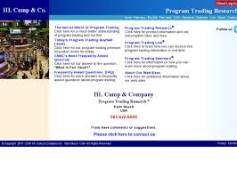Hl Stock Quote HL Camp and Company Program Trading and Daily BuySell Excution 10