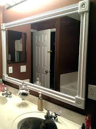 bathroom mirrors framed. Unique Bathroom Mirror Ideas Mirrors Full Image For Decorate Wooden Frame . Framed E