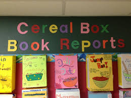 Cereal Box Book Report Sample Cereal Box book reports Steven Noyes 24th Grade Pinterest 1