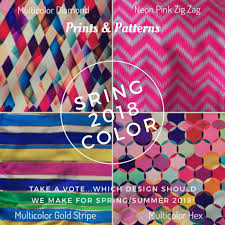 Spring Summer Print Color Trends Karlee Smith Bras