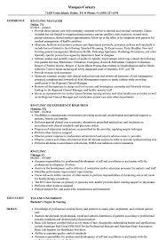Rn Clinic Resume Samples Velvet Jobs