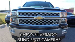 2014 CHEVROLET SILVERADO BLIND SPOT + FRONT FACING CAMERAS - YouTube