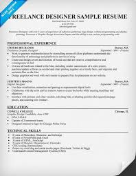 57 Fresh Freelance Graphic Designer Resume Sample Template Free