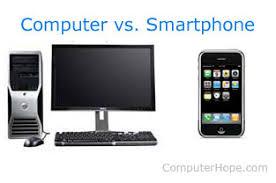 Computer Vs Smartphone