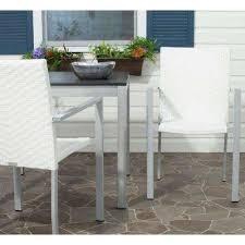 cordova offwhite indooroutdoor patio stacking armchair set of 2 white wicker patio furniture53 wicker
