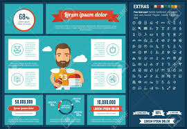 Sports Infographic Template Sports Infographic Template And Elements The Template Includes