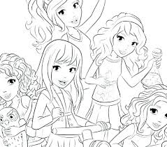 Friend Coloring Pages Friends Page Printable And Book Lego Bookmarks