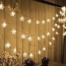 Snowflake Solar Christmas Lights Snowflake Christmas Lights Led Lights