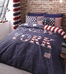 new york bedding duvet cover usa stars stripes red white