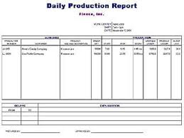 Daily Production Report Template | Free Layout & Format