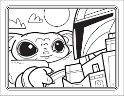 Baby yoda coloring pages is the baby boy spoken in the mandalorian in the star wars disney television serial. You Can Get A Free Downloadable Baby Yoda Coloring Book