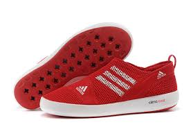 Women's Boat Suitable Shoes Red Climacool Adidas Running Sl