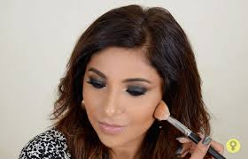 a bronzer is a round face s best friend contour plus bronzer is an awesome way to make your face look thinner apply it on the hollow of your cheeks and
